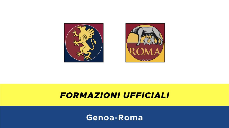Genoa-Roma formazioni ufficiali