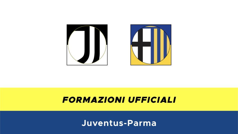 Juventus-Parma formazioni ufficiali