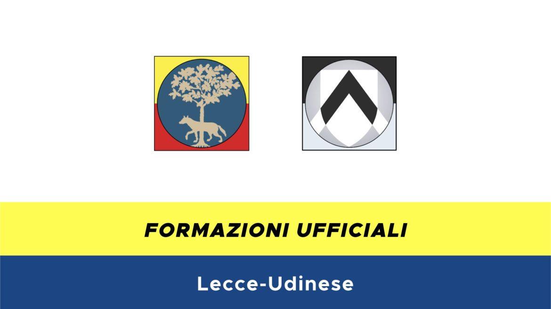 Lecce-Udinese formazioni ufficiali