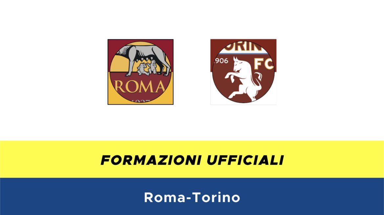 Roma-Torino formazioni ufficiali