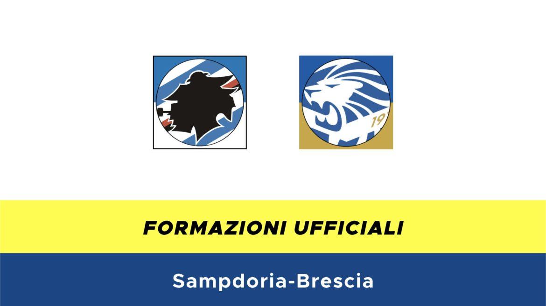 Sampdoria-Brescia formazioni ufficiali