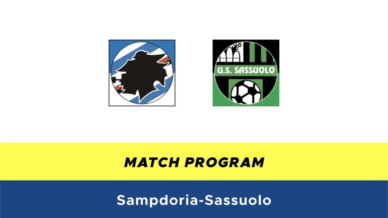 Sampdoria-Sassuolo probabili formazioni