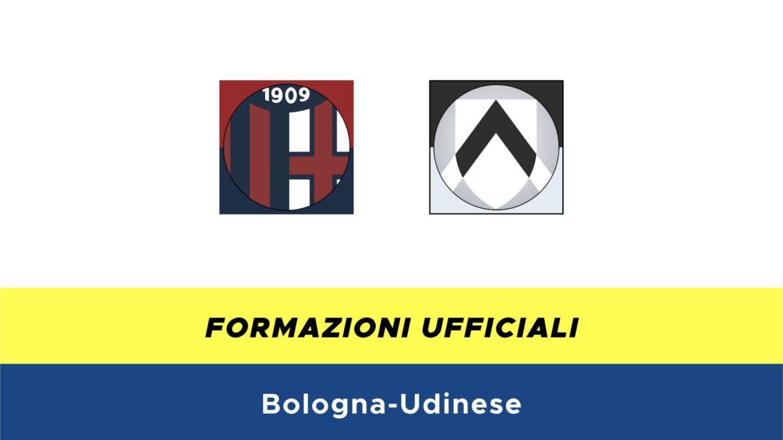 Bologna-Udinese formazioni ufficiali
