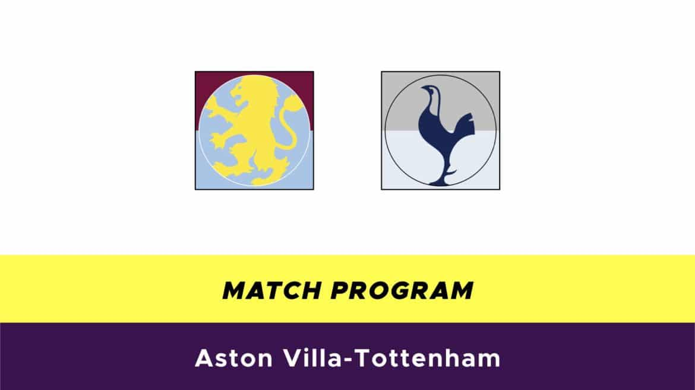 Aston Villa-Tottenham probabili formazioni