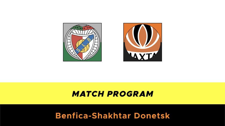 Benfica-Shakhtar probabili formazioni