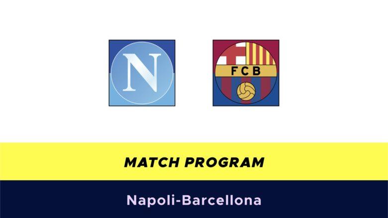 Napoli-Barcellona probabili formazioni