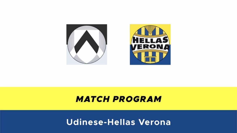 Udinese-Hellas Verona probabili formazioni