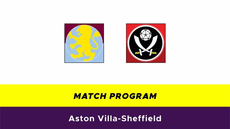 Aston Villa-Sheffield: probabili formazioni
