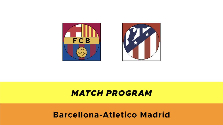 Barcellona-Atletico Madrid probabili formazioni