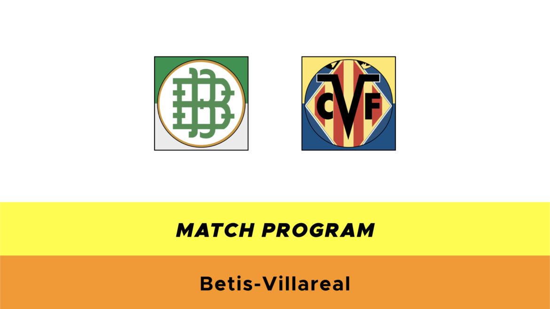 Betis-Villareal probabili formazioni