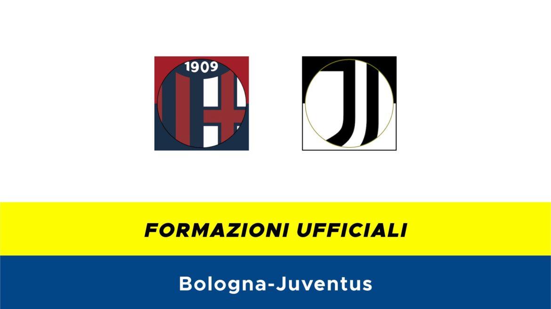 Bologna-Juventus formazioni ufficiali