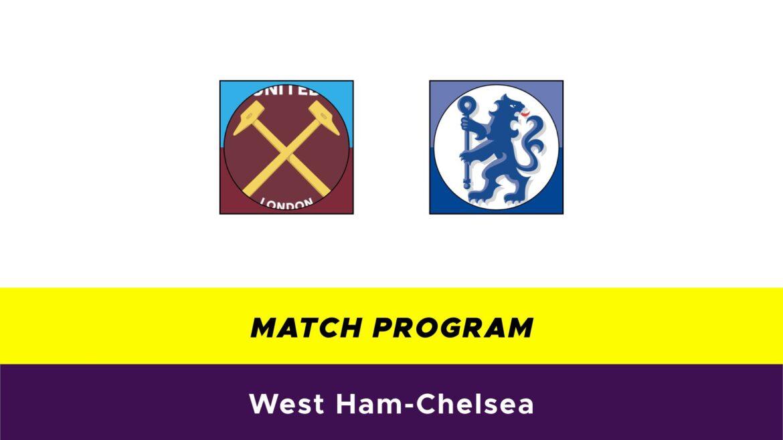 West Ham-Chelsea probabili formazioni