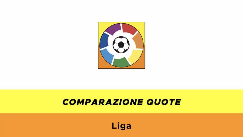 Comparazione quote Liga