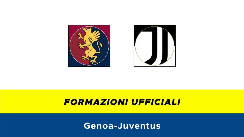 Genoa-Juventus formazioni ufficiali