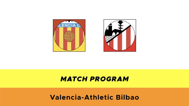 Valencia-Athletic Bilbao probabili formazioni