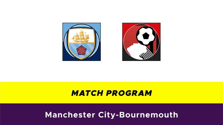 Manchester City-Bournemouth probabili formazioni