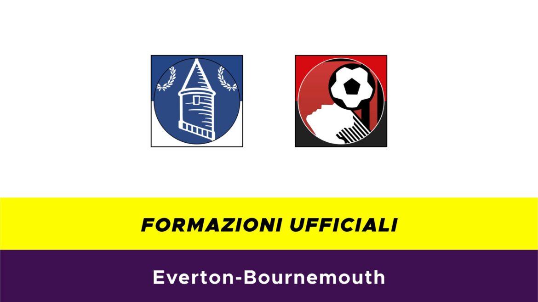 Everton-Bournemouth formazioni ufficiali