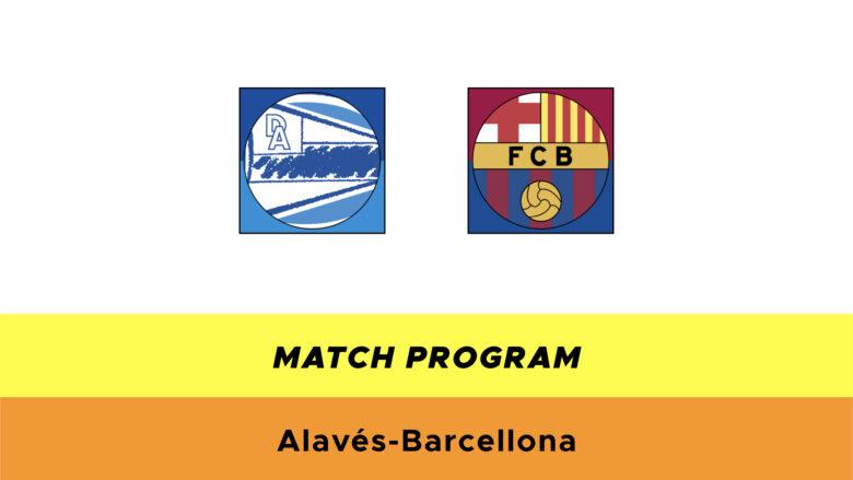 Alavés-Barcellona probabili formazioni