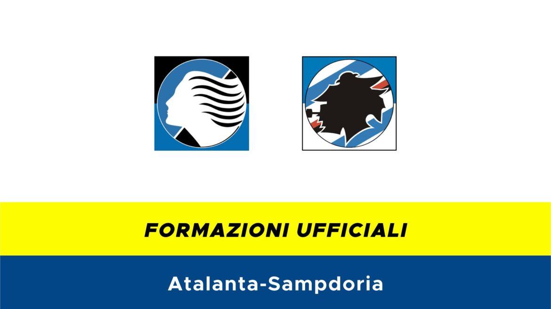 Atalanta-Sampdoria formazioni ufficiali