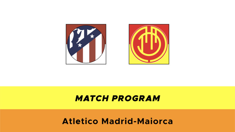Atletico Madrid-Maiorca probabili formazioni