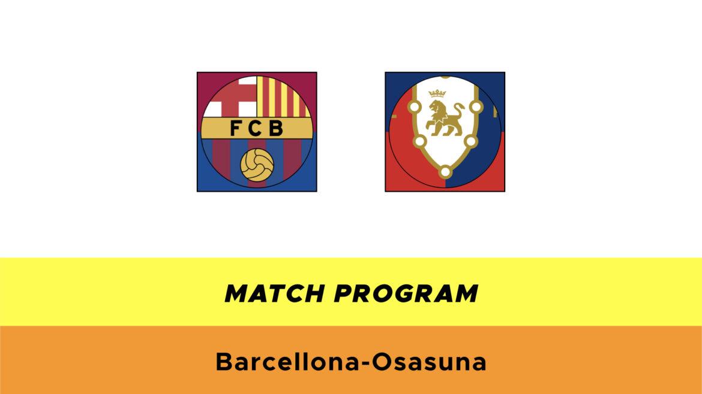 Barcellona-Osasuna probabili formazioni