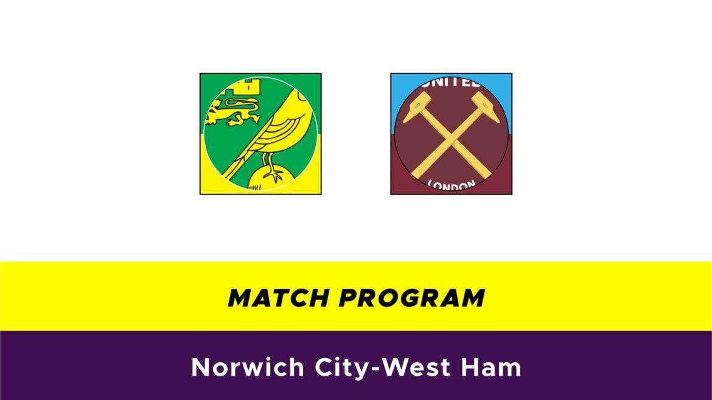 Norwich-West Ham probabili formazioni