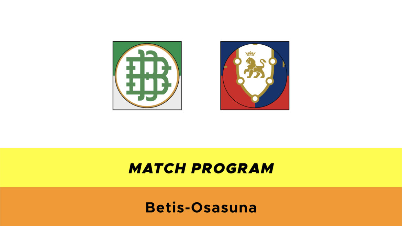Betis-Osasuna probabili formazioni