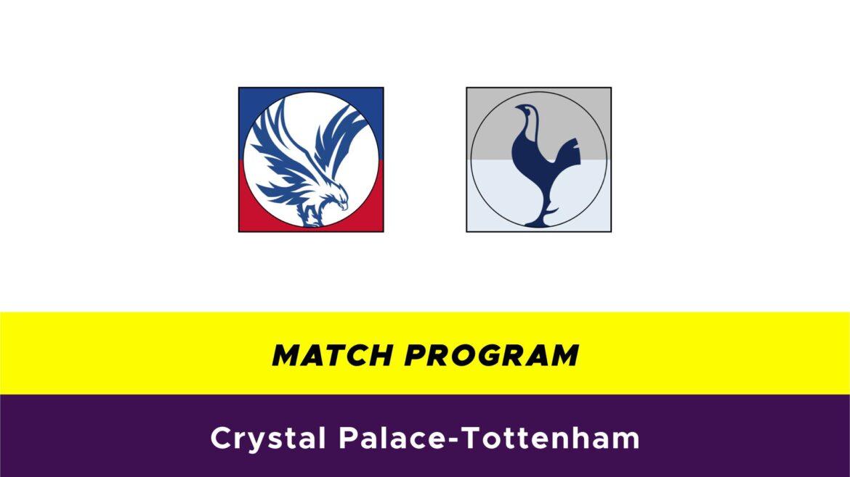 Crystal Palace-Tottenham probabili formazioni