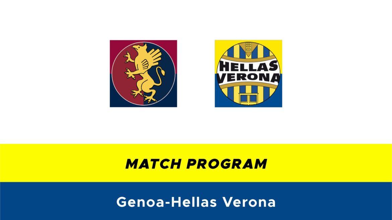 Genoa-Hellas Verona probabili formazioni
