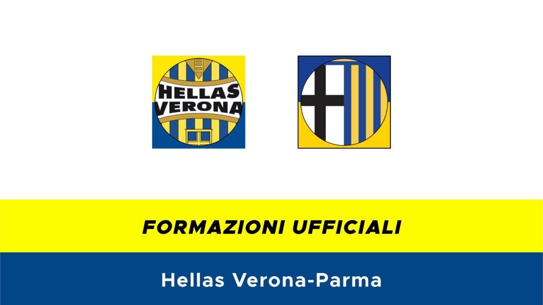 Hellas Verona-Parma formazioni ufficiali