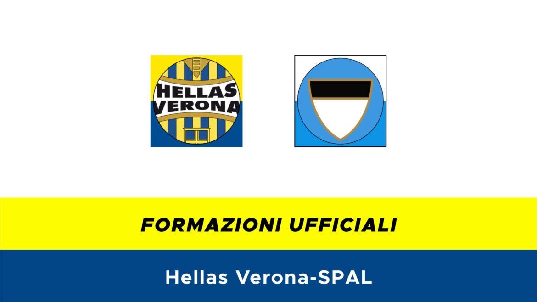Hellas Verona-SPAL formazioni ufficiali