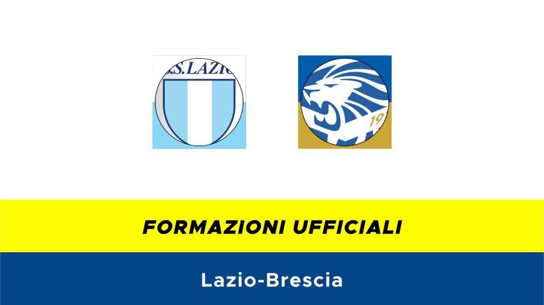 Lazio-Brescia formazioni ufficiali