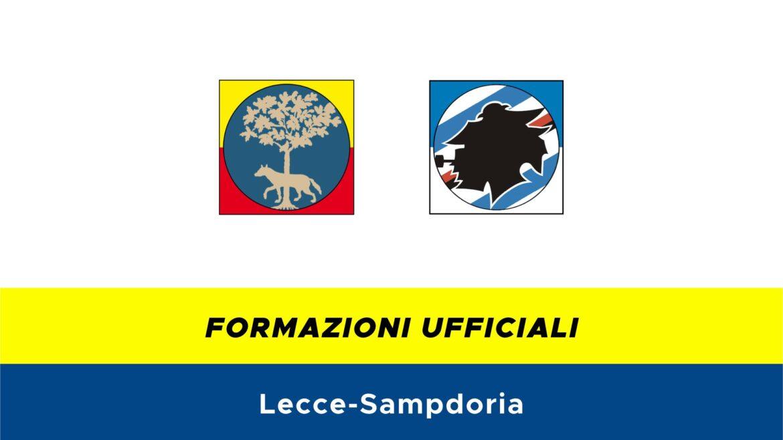 Lecce-Sampdoria formazioni ufficiali