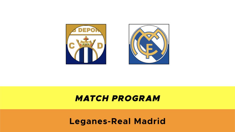 Leganés-Real Madrid probabili formazioni