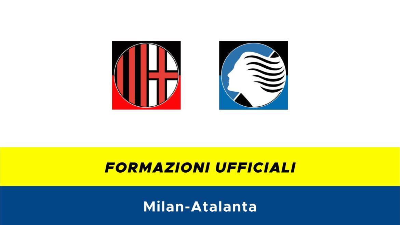 Milan-Atalanta formazioni ufficiali