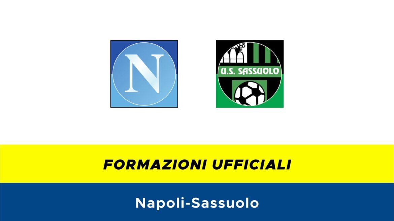 Napoli-Sassuolo formazioni ufficiali