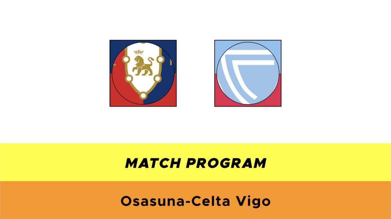 Osasuna-Celta Vigo probabili formazioni