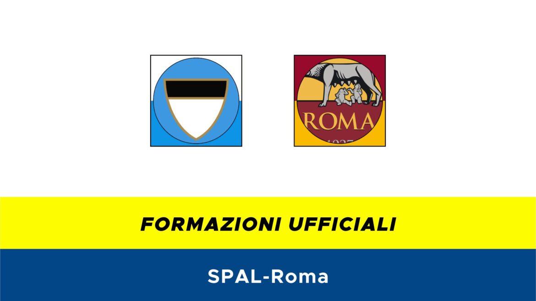 SPAL-Roma formazioni ufficiali