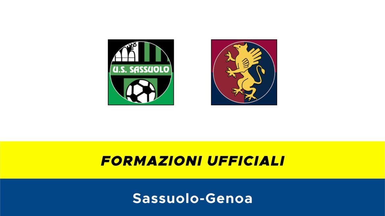 Sassuolo-Genoa formazioni ufficiali