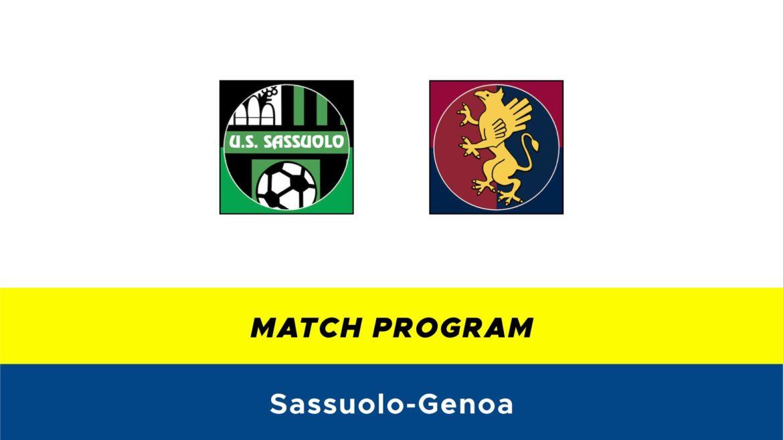 Sassuolo-Genoa probabili formazioni