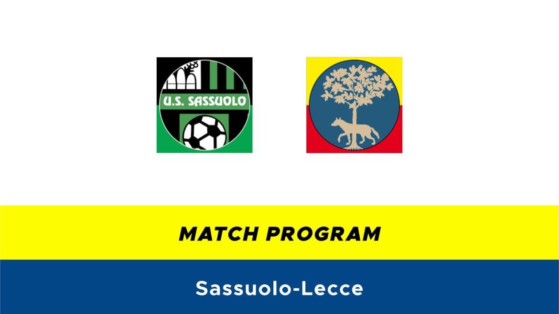 Sassuolo-Lecce probabili formazioni