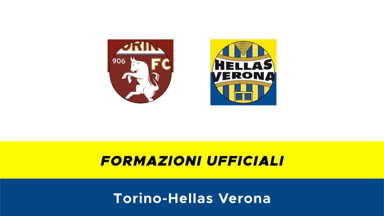 Torino-Hellas Verona formazioni ufficiali
