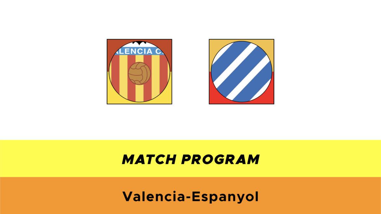 Valencia-Espanyol probabili formazioni
