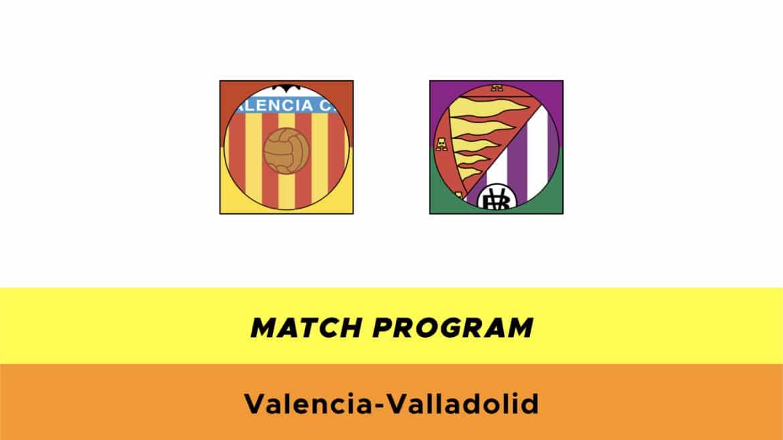 Valencia-Valladolid probabili formazioni
