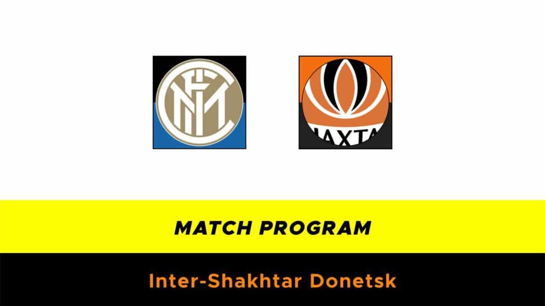 Inter-Shakthar Donetsk probabili formazioni