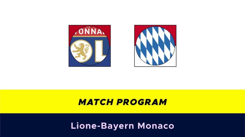 Lione-Bayern Monaco: probabili formazioni