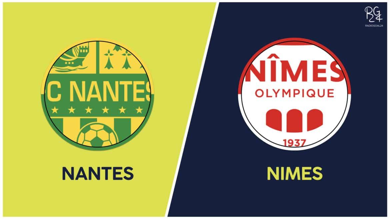 Nantes-Nimes: formazioni ufficiali