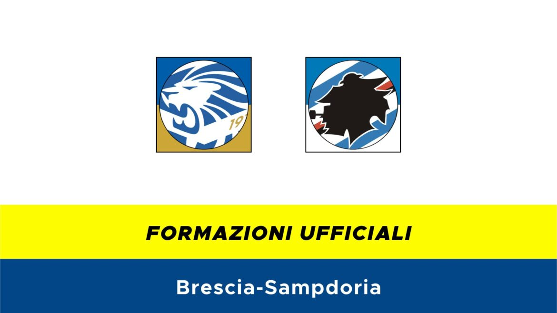 Brescia-Sampdoria: formazioni ufficiali