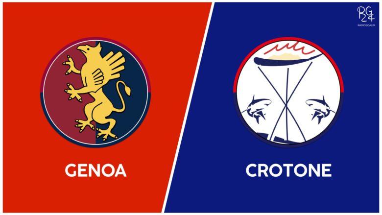 Genoa-Crotone probabili formazioni