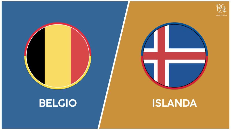 Islanda-Belgio probabili formazioni